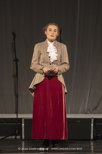 As Millicent Fawcett in The Little Cabaret of Suffragette